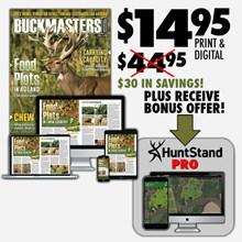 Buckmasters/Huntstand One Year Subscription 2316590002