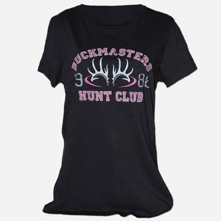 Ladies Gray Hunt Club Tshirt 1411551172