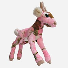 Plush  Pink Realtree Buck 1613551112