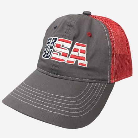 USA gray/red mesh cap 1211551232