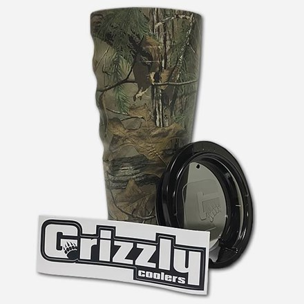 Realtree Grizzly Grip 20 oz Cup 2212591112