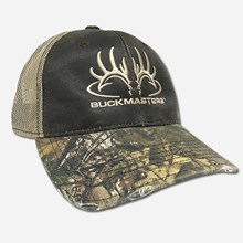 Buckmasters Logo brown/realtree cap 1216591130