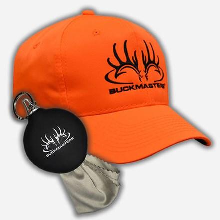 Orange hat and keychain 2412590007