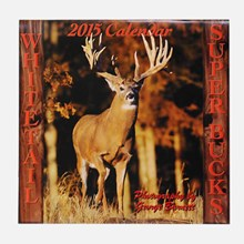 2015 Whitetail Super Bucks Calendar 1316551119
