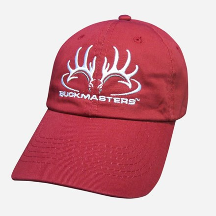 Crimson, White and Gray Logo Cap 1211551219