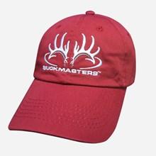 Crimson, White and Gray Logo Cap 1211551219