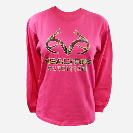 Realtree Pink Camo Antler Tshirt 1411590010