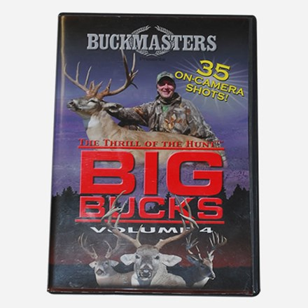 Big Bucks Volume 4 The Thrill Of the Hunt DVD 2311551115
