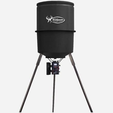 Wildgame Poly Barrel Feeder with Digital Feeder 1921590080