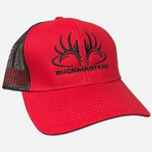 Buckmasters 2018 Red/Black Mesh cap 1211551229