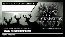 Buckmasters Gift Card HGC-000001