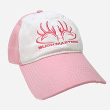 Ladies Pink and White Cap 1211551212