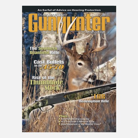 GunHunter Magazine 1-Year Subscription GH01