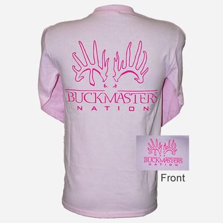 Womens Pink LS Tshirt 1411551143