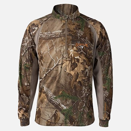 Scentlok Men's Attack Zip Shirt 1511590008