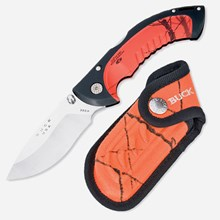 Orange Folding Omni Hunter 10PT, by Buck Knives 1711551122