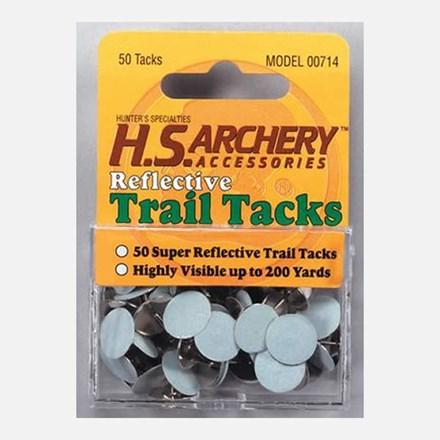 Hunter's Specialties White Reflective Trail Tacks 1921590021