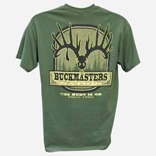 Buckmasters Nation Hunt is On Tshirt 1411551137