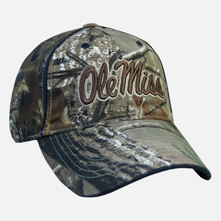 Realtree Ole Miss Hat 1211551154
