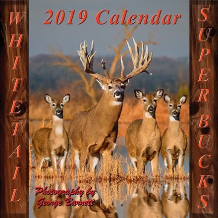 2019 Whitetail Super Bucks Calendar 1316551122