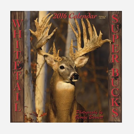 2015 Whitetail Super Bucks Calendar 1316551120