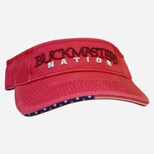 Nation Red Visor 1211551209