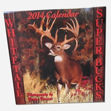 2014 Whitetail Super Bucks Calendar 1316551118