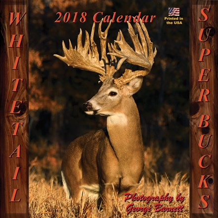 2017 Whitetail Super Bucks Calendar 1316551122