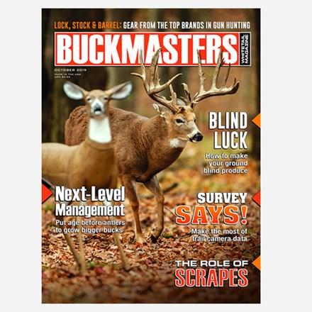 Buckmasters 1 Year Magazine Subscription 1111551129