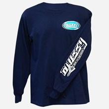 Muzzy Blue Logo LS shirt 1411551131