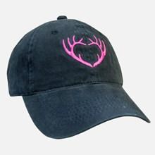Ladies Black Horned Cap 1211551201