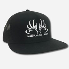 Black Flat Buckmasters Logo Cap 1211551227