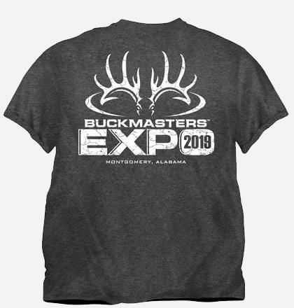 2019 Buckmasters Expo T-shirt 1411590012