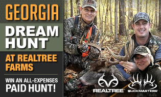 Georgia Dream Hunt at Realtree Farms!