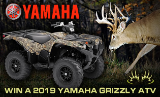 Win a 2019 Yamaha Grizzly ATV!