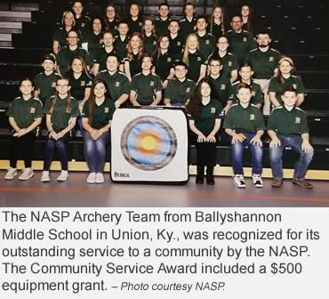 NASP recognizes Academic Archers, On Target for Life winners